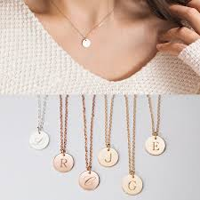 gold necklace with letters images Gold initial necklace initial pendant gold necklaces for women jpg