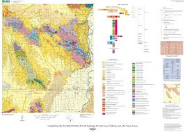 County Map Of Arizona by Geologic Map Of The West Half Of The Blythe 30 U0027 By 60 U0027 Quadrangle
