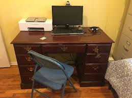 find desk at estate sales