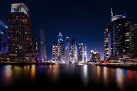 Arab Hd by Dubai Marina Uae Dubai United Arab Emirates Town Night Lights