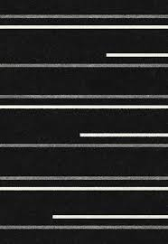 Black Modern Rug This Black Area Rug Features A Striped Design In Grey And White