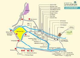 Aquatica Map Dharitri Infraventure Dharitri Universia Map Dharitri Universia