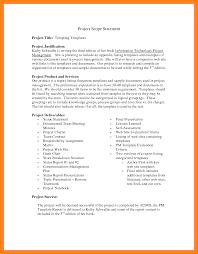 7 examples of scope statement sephora resume