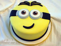 minion birthday cakes cakes by becky minion birthday cake