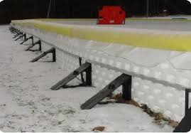 Build A Backyard Ice Rink Backyard Hockey Rink How To Winterize Your Flex Court Outdoor Sport