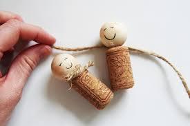 how to make wine cork wine cork ornaments