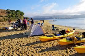 Tomales Bay Map Camping Blue Waters Kayaking Point Reyes California