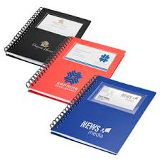 business card notebook spiral notebook with business card window 1165 vs1306 halo