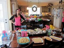 baby shower and gender reveal party food all of the food was any