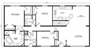 ranch floor plans stunning ideas ranch floor plans with basement sprawling house 17