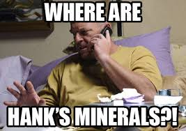 Breaking Bad Finale Meme - hank s minerals from breaking bad finale unanswered questions