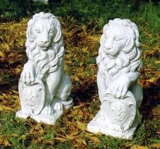 lions statues florentine lion set statue laege lions garden statues outdoor