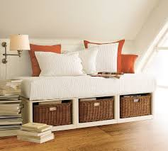 White Daybed With Storage Storage Drawers Daybed With Storage Drawers Underneath With