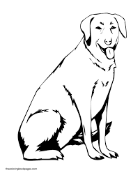 labrador puppy coloring pages awesome projects labrador retriever