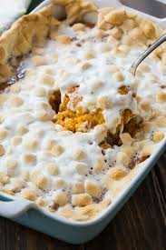 sweet potato casserole with marshmallows spicy southern kitchen
