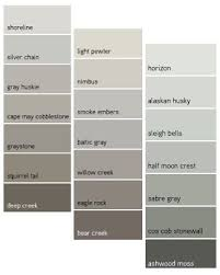 best gray paint colors benjamin moore best neutral paint color palettes for your entire house interiors