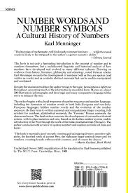 number words and number symbols a cultural history of numbers