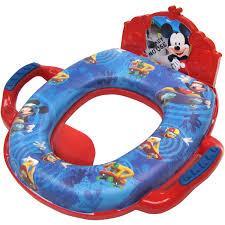 Mickey Mouse Potty Seat Instructions by Disney Mickey Mouse Soft Potty With Sound Walmart Com