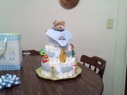 Diaper Cake Directions Baby Boy Diaper Cake By Tina