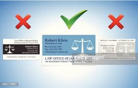 Business Cards Attorney Lawyer Attorney Business Card Set Wtih Law Office Vector Art