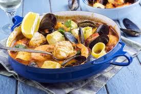 recette matelote de poissons et fruits de mer