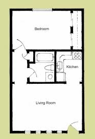 one room house floor plans floor plan bedroom house log small bonus southmore cottage park