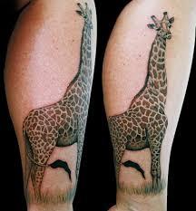 53 best giraffe tattoos design and ideas