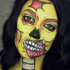 Spider Makeup Halloween by Marianne Gagnon Mariannegmaquillage U2022 Cartoon Pop Art Zombie