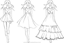 free coloring pages of modern clothes 6190 bestofcoloring com