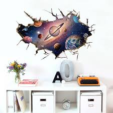 online get cheap universe wall decals aliexpress com alibaba group new fashion 3d universe galaxy ceiling stickers vinyl diy wall decals for kids rooms kindergarten toilet