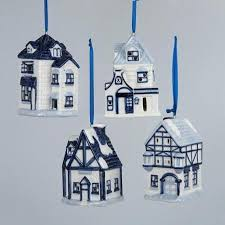 Pack Of Blue Christmas Decorations by Cheap White Porcelain Christmas Ornaments Find White Porcelain