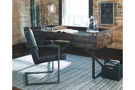 ashley furniture writing desk starmore 63 home office desk ashley furniture homestore
