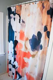 Shower Curtains Extra Long Turning A Society6 Tapestry Into A Diy Extra Long Shower Curtain