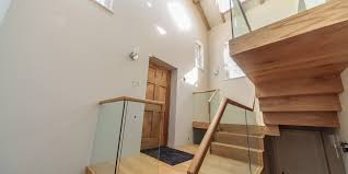 Wood Glass Stairs Design Stair Inspiring Outdoor Staircase Decoration With Glass Staircase