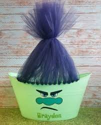 Easter Baskets Decorated With Tulle by Trolls Movie Easter Basket Idea A Board For Everything
