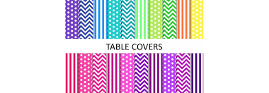 table covers for party table covers party world