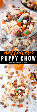 puppy chow stress baking