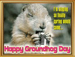 groundhog day cards mr groundhog singing free groundhog day ecards greeting cards