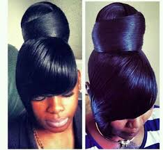 black girl bolla hair style 94 best flawless hair buns updo s images on pinterest black