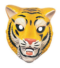 amazon com tiger animal mask costume accessory toys u0026 games