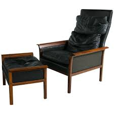 Midcentury Modern Lounge Chair Danish Mid Century Modern Lounge Chair And Ottoman In A Rosewood