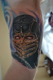 mortal komba tattoos