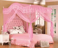 cute and romantic pink bed canopy modern wall sconces and bed ideas image of romantic pink bed canopy