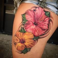 25 ide terbaik hibiscus flower tattoos di pinterest tato kupu