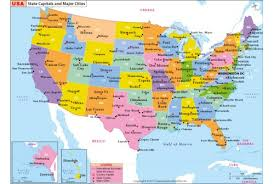 map of us states and capitals a free united states map the us state capitals map quiz buy