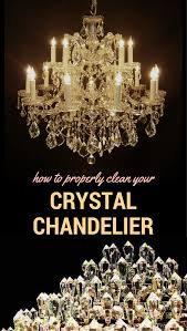 How To Clean Crystals On Chandelier How To Properly Clean Your Crystal Chandelier Freecleaningtips Net