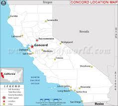 concord california map is concord california