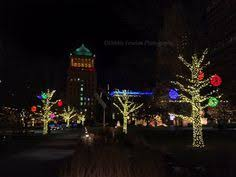 holiday lights st louis christmas lights in grand center at st louis university debbie