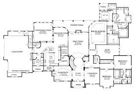 country one story house plans sure don t need 6 bedrooms a library etc but i like the