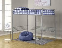 amazon com dorel home products full loft bed silver kitchen